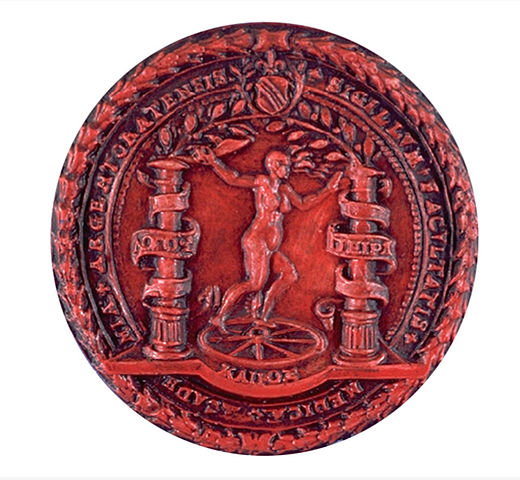 Logo médecine rouge par Faculté de médecine de Strasbourg, via wikipedia.fr, cc