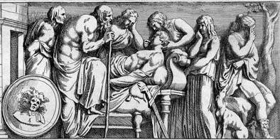 Scène medicale par Petro Sancto Bartoli, via Wikimedia Commons