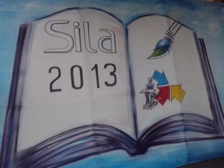 Peinture évoquant le SILA 2013, Crédit photo Missa cc.